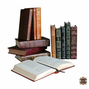 Assorted Rebound Leather Book, Set of 12