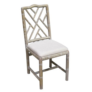 English Bamboo Side Chair