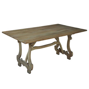 Brown Calambac Dining Table