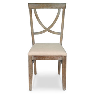 Whitewash Monets Chair