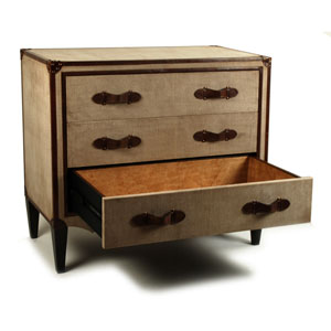 Natural Art Deco Commode