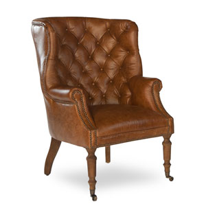 Brown Welsh Leather Chair