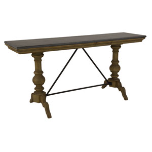 Wall Table with Bluestone Top