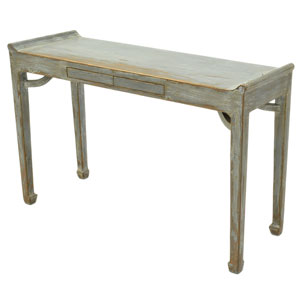 Console Table with Two Push Drawers