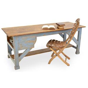 Scrubbed Top Farm Table