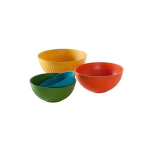 Multicolor Prep n Serve Bowl, Set of Four