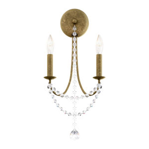 Verdana Moonstone Two-Light Wall Sconce