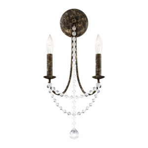 Verdana Heirloom Bronze Two-Light Wall Sconce