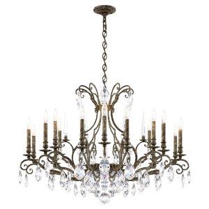 Renaissance Nouveau Heirloom Bronze 18-Light Chandelier