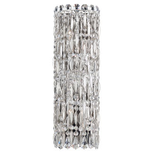 Sarella Polished Stainless Steel Four-Light ADA Wall Sconce