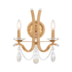 Vesca French Gold Two-Light Wall Sconce