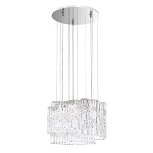 Selene Stainless Steel 18-Inch 4000K LED Pendant with Clear Spectra Crystal