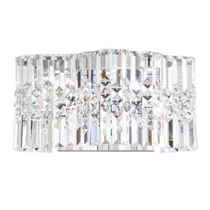 Selene Stainless Steel LED Wall Sconce with Clear Spectra Crystal