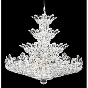 Trilliane Silver 37-Light Crystal Swarovski Strass Pendant, 30W x 27H x 30D