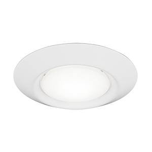 Traverse LED Lyte Satin Nickel Seven-Inch LED Recessed Light