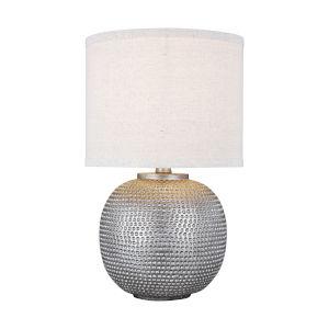 Bainbridge Weathered Pewter One-Light Table Lamp