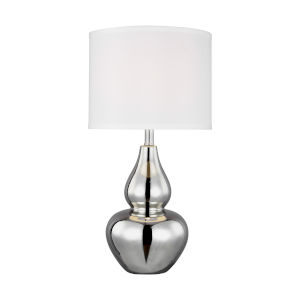 Toby Chrome One-Light Table Lamp