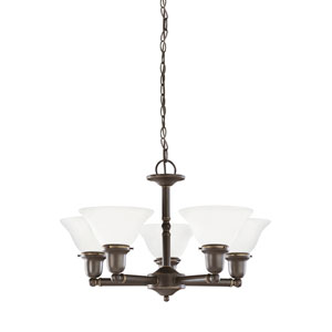 Sussex Heirloom Bronze Energy Star Five-Light LED Chandelier