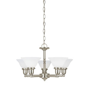 Sussex Brushed Nickel Energy Star Five-Light LED Chandelier