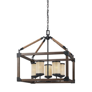 Dunning Stardust Energy Star Five-Light LED Chandelier