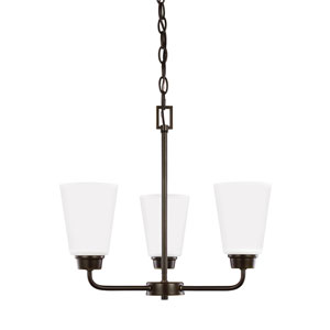 Kerrville Heirloom Bronze Energy Star Three-Light LED Chandelier
