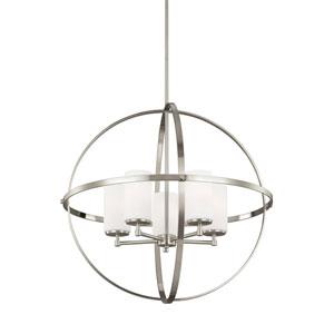 Alturas Brushed Nickel Energy Star Five-Light LED Chandelier