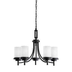 Winnetka Blacksmith Energy Star Five-Light LED Chandelier