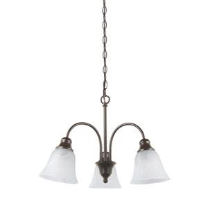 Windgate Heirloom Bronze Energy Star Three-Light LED Chandelier