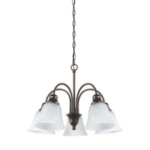 Windgate Heirloom Bronze Energy Star Five-Light LED Chandelier