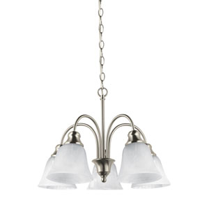Windgate Brushed Nickel Energy Star Five-Light LED Chandelier