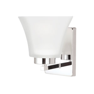Bayfield Chrome Energy Star LED Bath Sconce