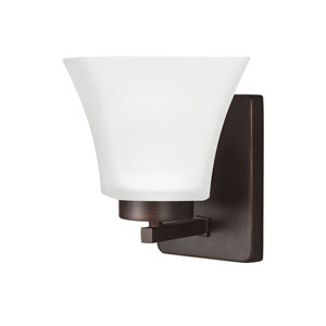 Bayfield Burnt Sienna Energy Star LED Bath Sconce
