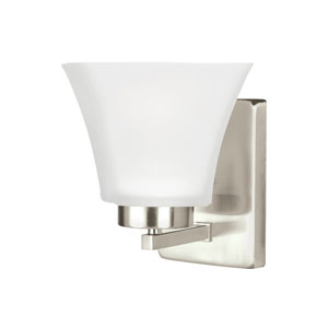 Bayfield Brushed Nickel Energy Star LED Bath Sconce