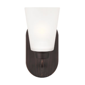 Kerrville Bronze Bath Vanity with LED Bulb