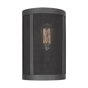 Gereon Black Eight-Inch One-Light Bath Sconce
