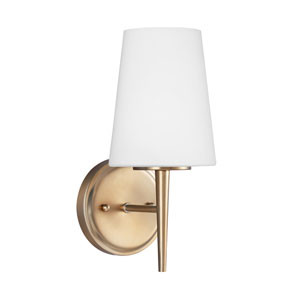 Driscoll Satin Bronze Energy Star LED Bath Sconce