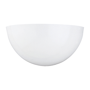 ADA Wall Sconces White 12-Inch LED Bath Sconce