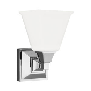 Denhelm Chrome Energy Star LED Bath Sconce