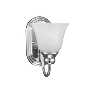 Windgate Chrome Energy Star LED Bath Sconce
