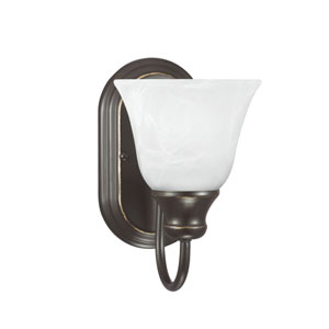 Windgate Heirloom Bronze Energy Star LED Bath Sconce
