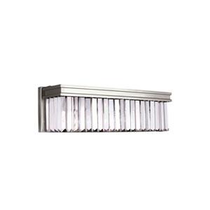 Carondelet Brushed Nickel Energy Star Three-Light LED Bath Vanity