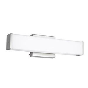Aldridge Brushed Nickel 19-Inch LED Bath Bar