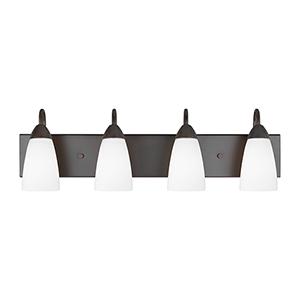 Seville Bronze Energy Star 28-Inch Four-Light Bath Vanity