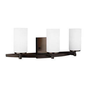 Alturas Oil Rubbed Bronze Three-Light Bath Vanity Energy Star/Title 24