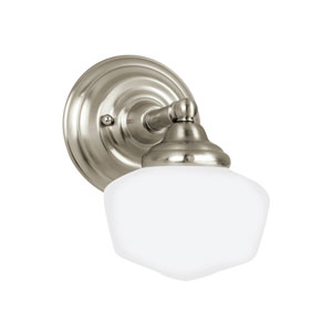 Academy Brushed Nickel Energy Star LED Bath Sconce
