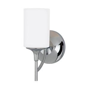Stirling Chrome Energy Star LED Bath Sconce