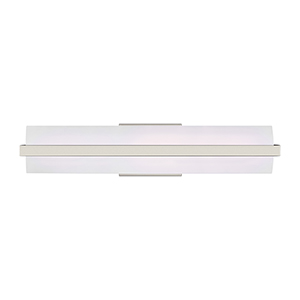 East Benton Brushed Nickel 24-Inch LED Bath Bar