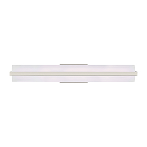 East Benton Brushed Nickel 37-Inch LED Bath Bar