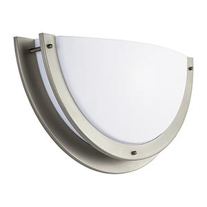 Nexus Brushed Nickel 15-Inch LED Bath Sconce