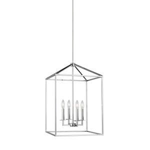 Perryton Chrome Four-Light Pendant
